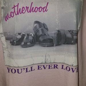 Motherhood T-shirt Toughest Job